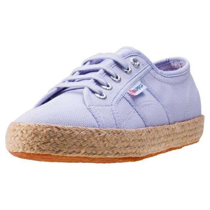 Superga 2750 Rope Femmes Baskets Violet - 8 UK sENb4J