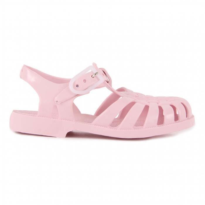 Sandales en plastique rose pastel - Rose - 26
