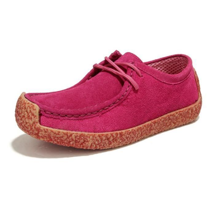 Sneaker Femmes Nouvelle arrivee Rétro Meilleure Qualité Hiver Chaussure Garde Au Chaud Elégant Classique Sneakers Confortable 34-39