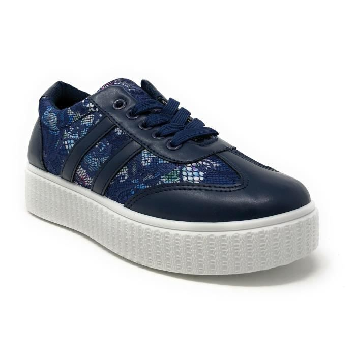 Sneaker u Taille Confort Fashion Con Et 3nyv1f 40 lgant Lacets gqYppw