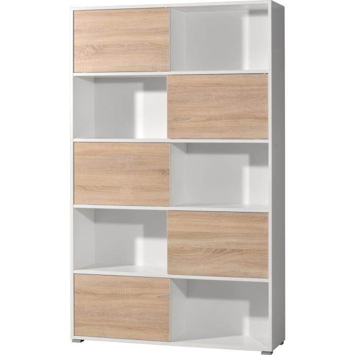 tag re de 5 porte coulissante coloris blanc ch achat. Black Bedroom Furniture Sets. Home Design Ideas