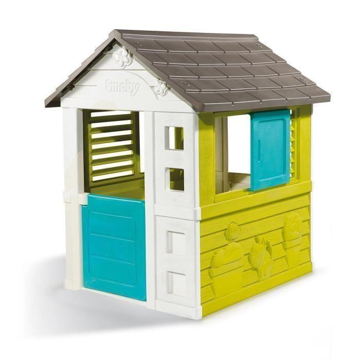 Smoby maison enfant pretty jeu d 39 ext rieur achat vente for Maison jouet exterieur