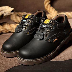 Chaussures Homme Cuir Confortable mode Homme chaussure de ville BCHT-XZ209Noir46 z9GDY