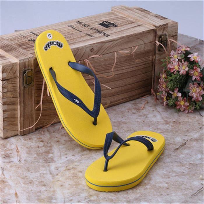 ed29aad80388a ... Chaussures Tongs Nouvelle Mode Hommes Sandales Printemps Et éTé Sandale  Pantoufles De Plein Air Sandale Pour ...