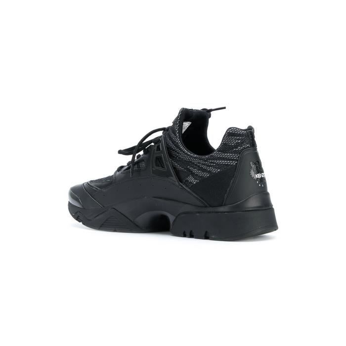 KENZO HOMME F765SN350F5499 NOIR POLYESTER BASKETS
