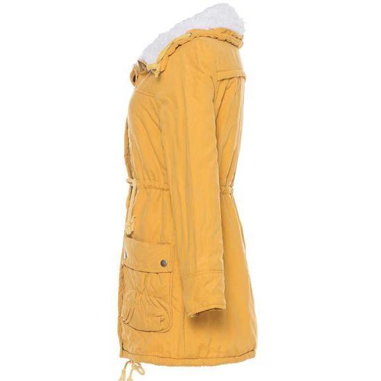 Manteau À Ert2355 Outwear Veste D'hiver Confor Chaud Col Parka Manteaux Capuche Slim Womens Long Yx1wq6