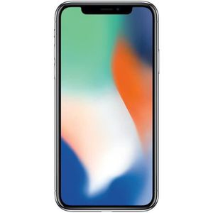 SMARTPHONE iPhone X 256 Go Argent Occasion - Comme Neuf