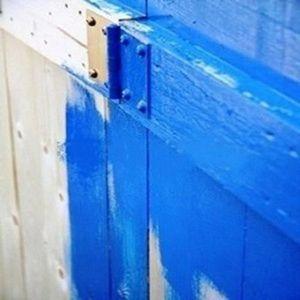 PEINTURE   VERNIS PEINTURE VOLETS BOIS 5KG RAL 5008 Bleu Gris ...