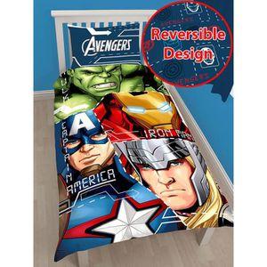 HOUSSE DE COUETTE Marvel Avengers Tech Simple Housse de couette et o