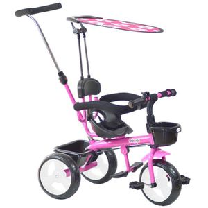 TRICYCLE Tricycle 4-en-1 boppi® - 9 à 36 mois - Rose - bopp