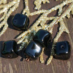 Perles Grand Cube Noir Perles Noir Agité Cube de Billes C