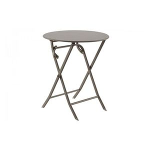 petite table ronde de jardin achat vente petite table ronde de jardin pas cher soldes d s. Black Bedroom Furniture Sets. Home Design Ideas