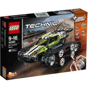 ASSEMBLAGE CONSTRUCTION LEGO® Technic 42065 Le Bolide sur Chenille télécom