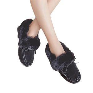 BOTTE Bottes plates Souliers de pois Plus Chaussures en