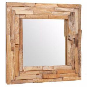 Miroir teck - Achat / Vente pas cher