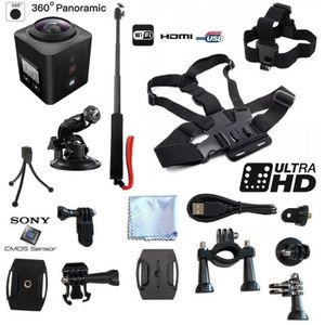 PACK CAMERA SPORT Caméra Sport 4K VR UHD 360° WINUP® PACK - Réalité