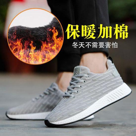 Baskets Chaussures Homme CJC-908 Gris Gris - Achat / Vente basket