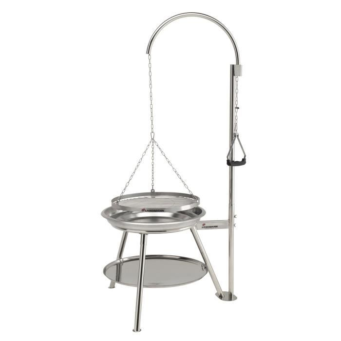 GEOX Barbecue suspendu inox diamètre 53 cm