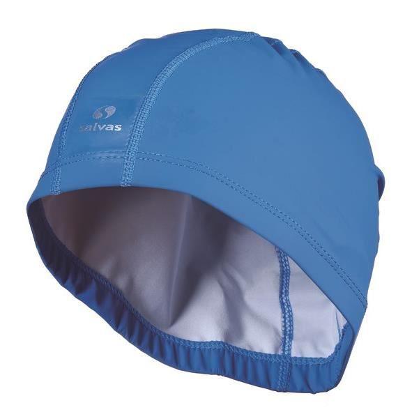 SALVAS Bonnet de bain Bleu / argent