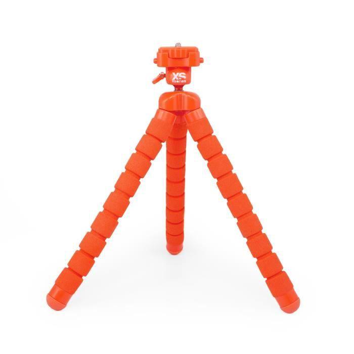 XSORIES Trépied Articulé pour Caméra d'Action - Orange