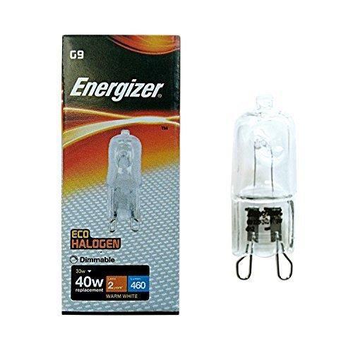 AMPOULE - LED 4x Energizer Capsule Halogène ECO 33W = 40W G9 éco