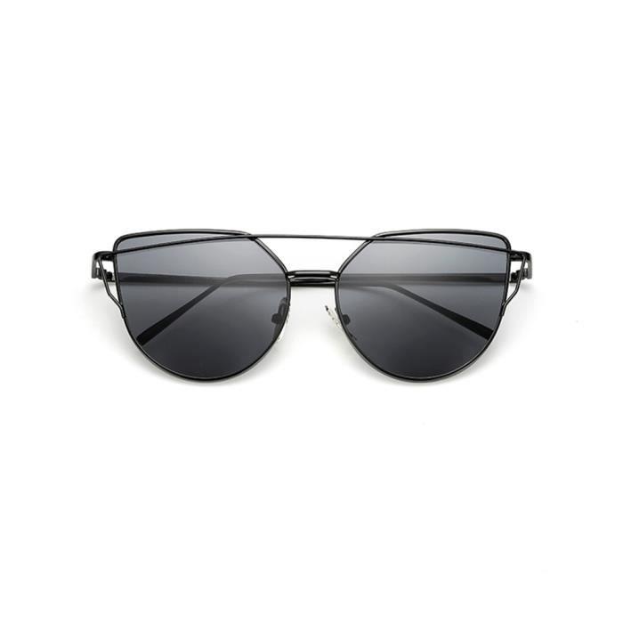Lunettes de soleil mixte homme et femme Magnifique sunglasses marque de  Luxe Noir Noir 1ea7af4f6349