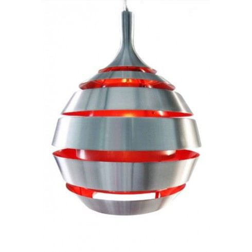 Suspension Design Galaxy Gris Rouge Achat Vente