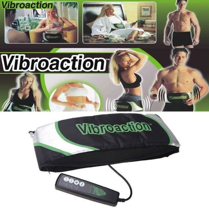 355f1e089eb Vibroaction Ceinture Vibrante Amincissante Massage Electrique Chauffante