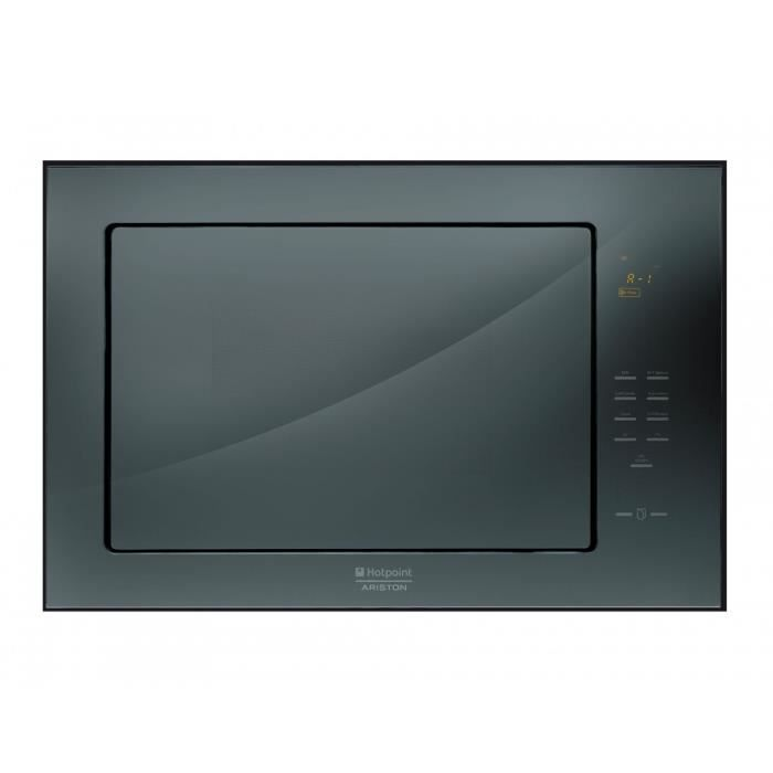 hotpoint-ariston four micro-ondes intégrable verre luce mwk222.1ha