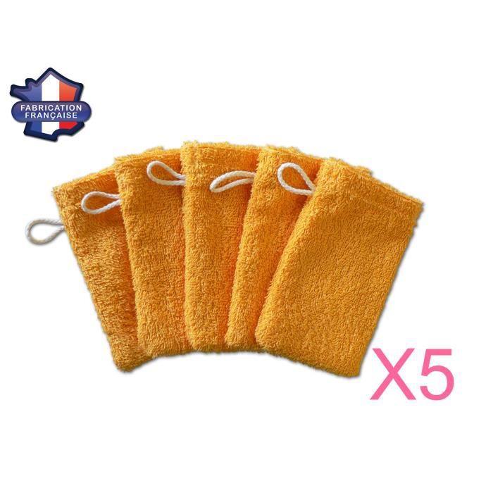 Lot de 5 petits gants de toilette d apprentissage pour bébé enfant ... fe60740c483