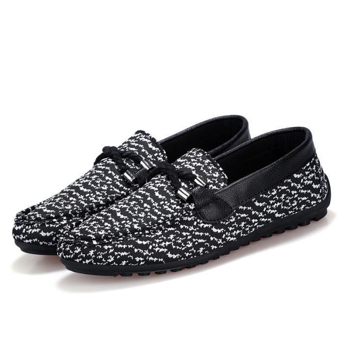 Nouveau Printemps Angleterre Mode Hommes Chaussures Zapato Chaussures Casual Mocassins Flats Slip Shoes,Orange,43