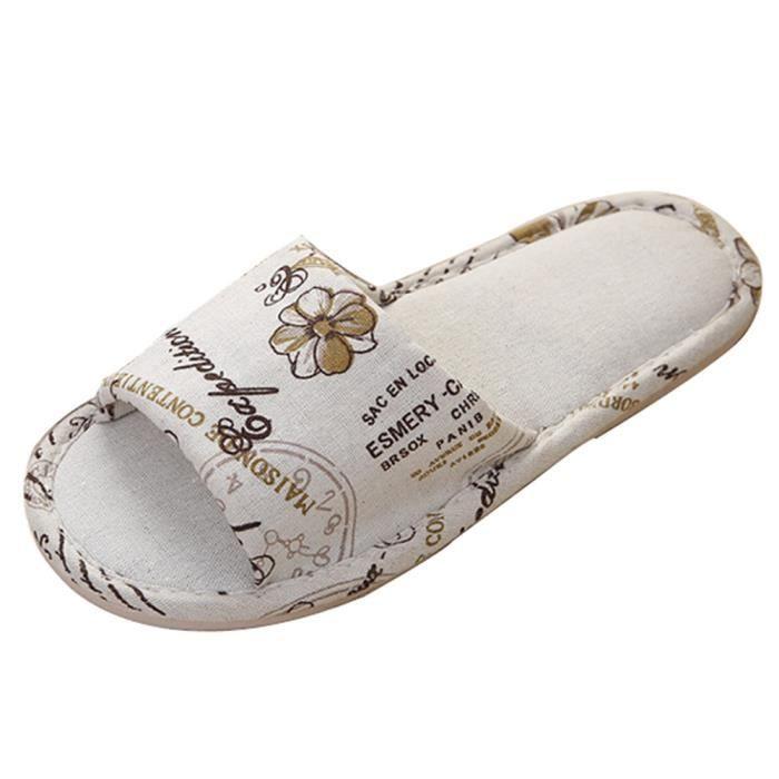 Chaussures Chanvre Chaussons Plateforme Ménage Flops Mode Hommes De 6685 Sandales v1qwnEB