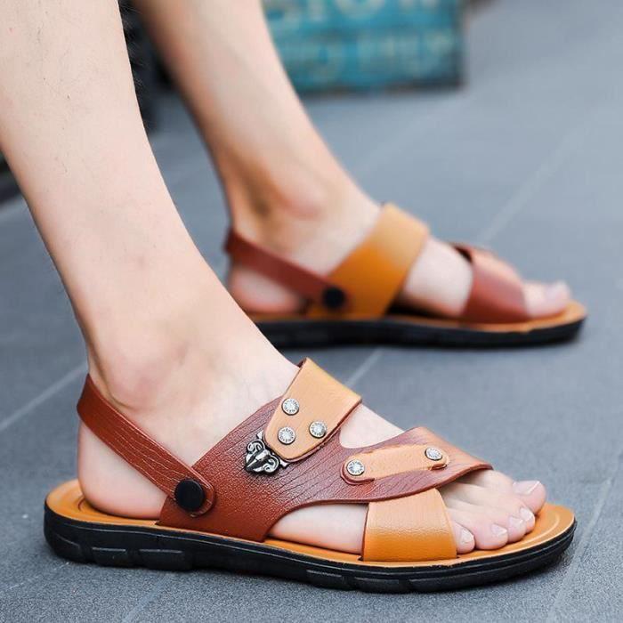 2018 Occasionnelles Créatif Mode De Nouveaux Été Sandales Hommes Chaussures Simple La fZrBfv