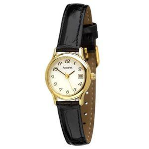 MONTRE Montre Femme Accurist LS630 bracelet cuir
