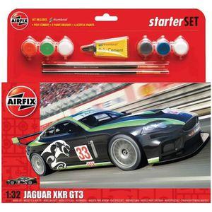 VOITURE À CONSTRUIRE Maquette voiture de course : Jaguar XKRGT : Starte