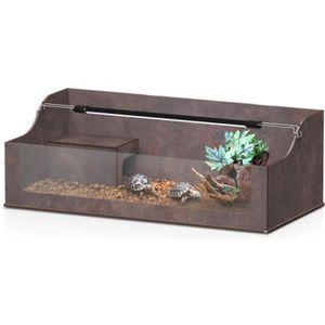 terrarium pour tortue de terre achat vente terrarium. Black Bedroom Furniture Sets. Home Design Ideas