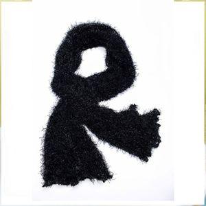 ECHARPE - FOULARD Echarpe tube noire en polyester Noir 05edde5d172