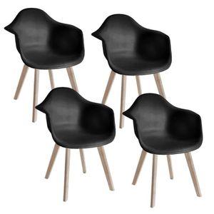 chaise scandinave avec accoudoir achat vente pas cher. Black Bedroom Furniture Sets. Home Design Ideas