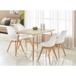 Table de cuisine achat vente table de cuisine pas cher - Table en bois moderne ...