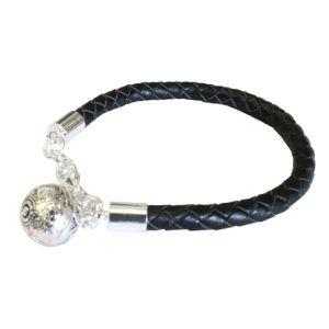 BIJOU DE GROSSESSE Bracelet Bola Noir unique