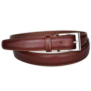0520b30c8b80 CEINTURE ET BOUCLE ceinture homme en cuir de vachette fabriqué en Fra