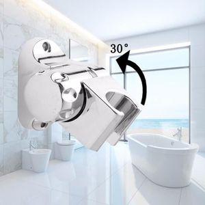 Noir 2/douchettes r/églables Aquam flexible silicone finition de qualit/é robinet de cuisine avec tuyau flexible r/églable /à 360//°
