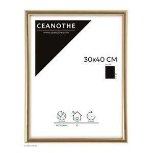CADRE PHOTO Brio cadre photo doré Gallery 30x40 cm