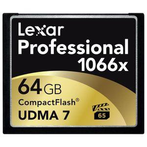 CARTE MÉMOIRE Lexar Professional Carte Mémoire CompactFlash UDMA