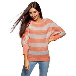PULL Pull rayé Mohair Femmes 3ALUDL Taille-34