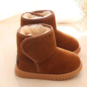 BOTTE Spentoper Hiver Bébé Enfant Coton Style Boot Botte