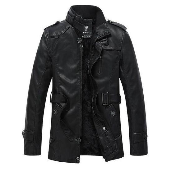 Manteau Hiver Homme Cuir Nouveau Couleurs Mode Moto 2017 Jacket En Casual 3  Blouson Veste Outaking 4wC0n 774f7523675