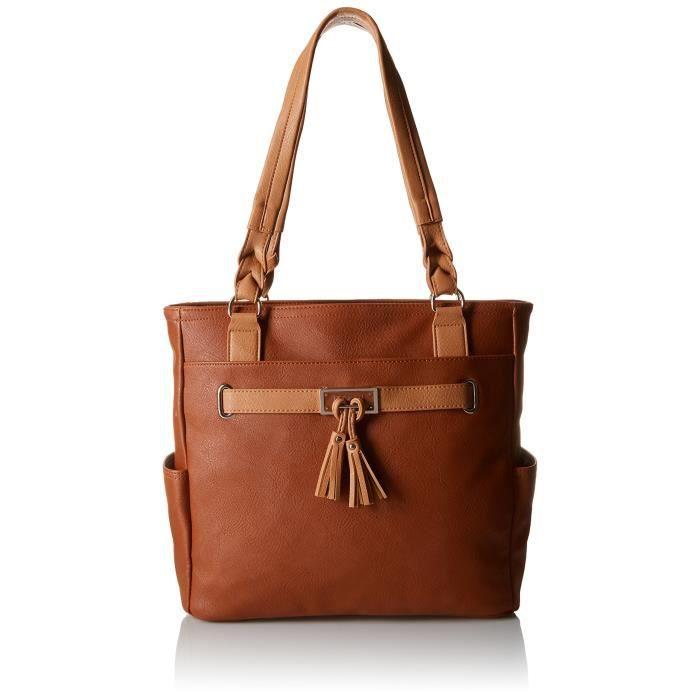 Craze sacs à main en cuir de mode pour femmes Crossbody sacs fourre-tout occasionnels jusquà 14 pouces PDD06