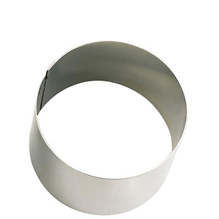 EMPORTE-PIÈCE  DE BUYER Cercle Collectivite - Ø 6 cm - Argenté