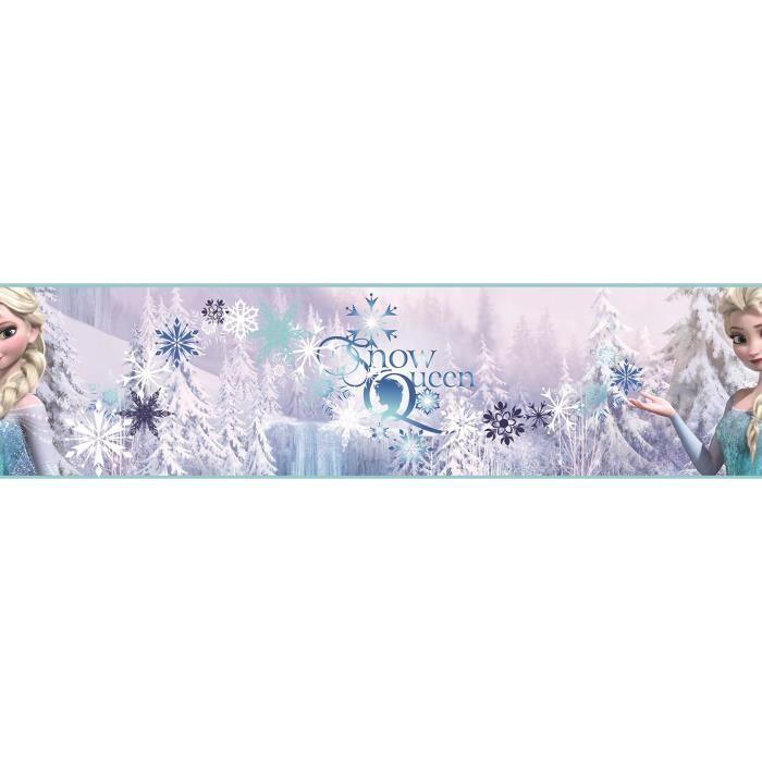 reine des neiges papier peint d co frise enfant 500x15 6. Black Bedroom Furniture Sets. Home Design Ideas